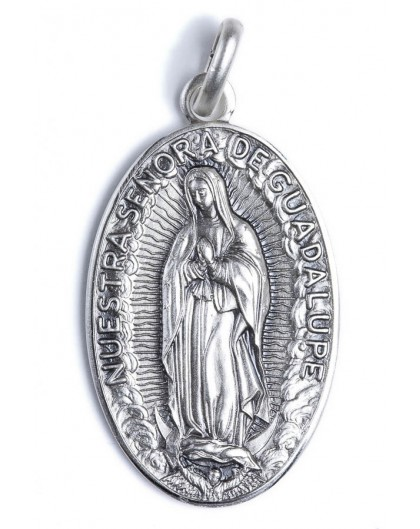 Madonna of Guadalupe medal