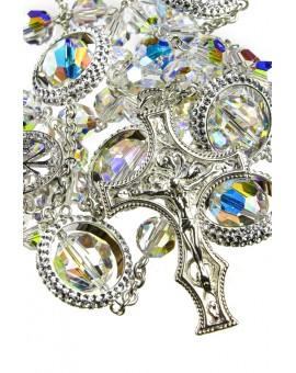 Strass Rings Clear Swarovski Crystal Rosary