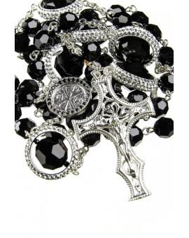 Strass Rings Black Swarovski Crystal Rosary