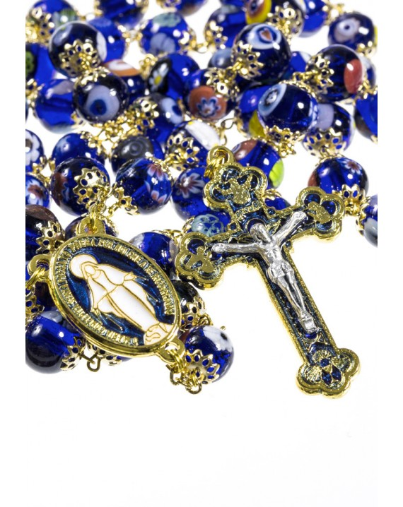 Murano Glass Rosary - Murrina