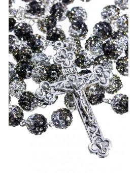 Shade of Black - Strass Rosary