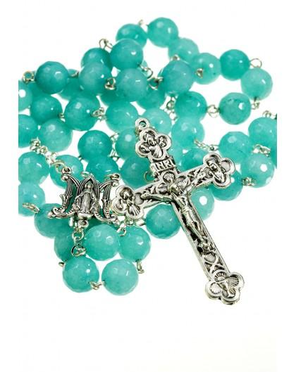 The Stone serie Rosary - Sapphire quartz