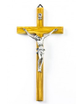 Classic Olive Wood Crucifix Medium size