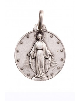 Rounded Miraculous Medal