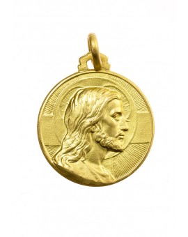 Christ the Redeemer Gold Plated Medal