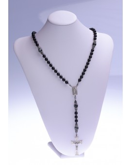 Eagle Eye Total Black matte Onyx Rosary