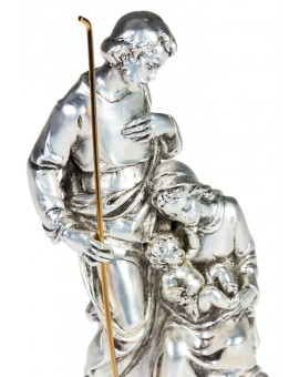 Silver color Nativity Scene