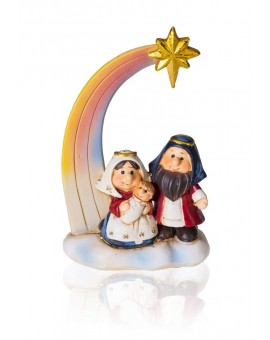 Rainbow Star Nativity
