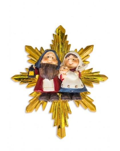 Children's Nativity on a Star Handpainted