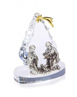 Christmas tree with Nativity - Swarovksi