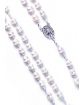 Cultured Pearls Rosary