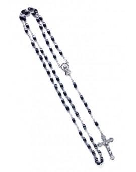 Wave Beads Hematite Rosary