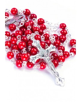 Red Coral Rosary