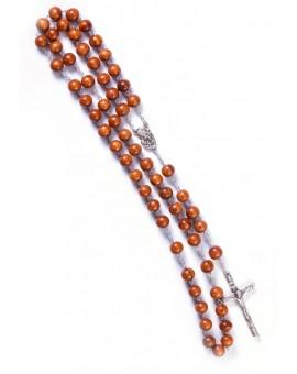 Mahogany wood Rosary
