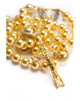 Majestic Gold Rosary