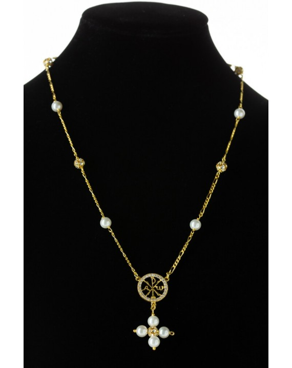 Pax and Pearls Necklace