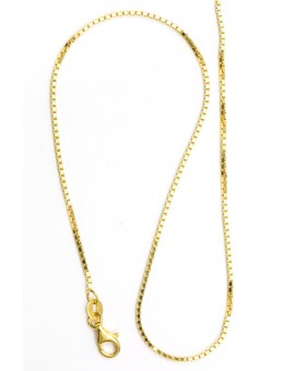 Gold Plated Sterling Silver chain 03