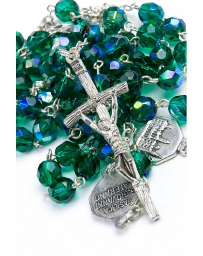 Four Basilica Green Rosary