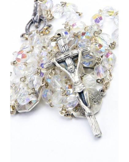 Four Basilicas Clear Rosary small