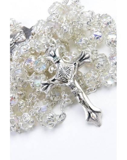 Clear Beads Rosary