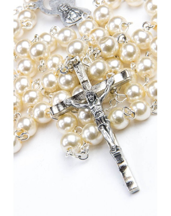 Glass Pearls Rosary