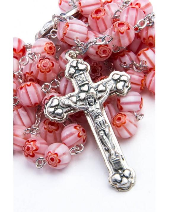 Murrina Pink Rosary