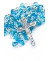 Sky Blue Glass Rosary