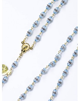 Light Blue Swarovski Crystal beads