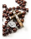 St Francis Wooden Rosary