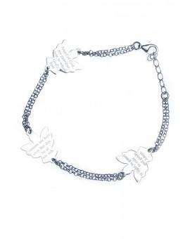 Guardian Angel Sterling Silver 925 Bracelet