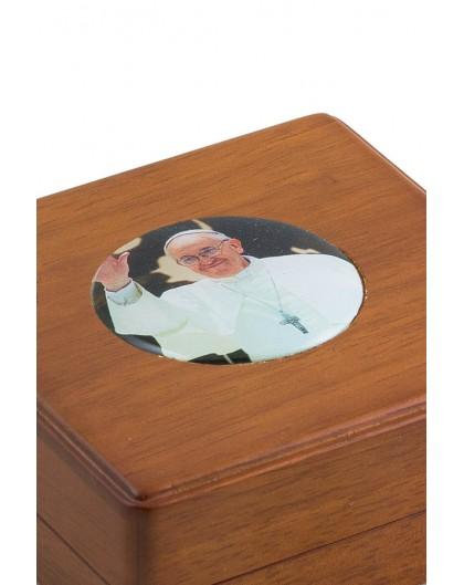 Pope Francis Rosary Box
