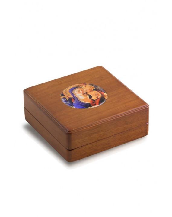 Virgin Mary Icon Rosary Box