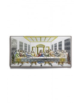 Last Supper Bilaminate Sterling Silver 0799