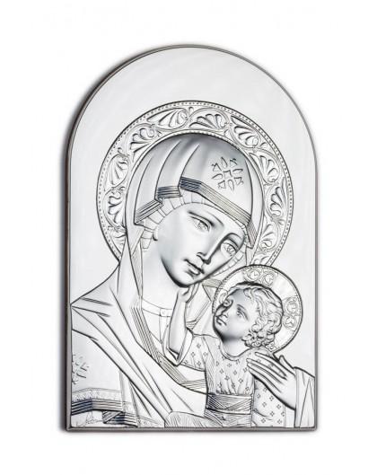 Virgin Mary Bilaminate Sterling Silver 0820