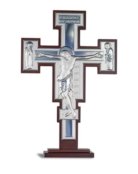 Crucifix Bilaminate Sterling Silver 0798