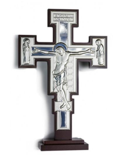Crucifix Bilaminate Sterling Silver 0801