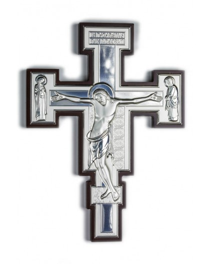 Crucifix Bilaminate Sterling Silver 0802