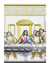 Last Supper Bilaminate Sterling Silver 0807