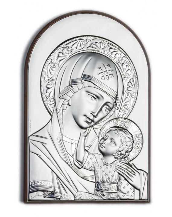 Virgin Mary Bilaminate Sterling Silver 0810