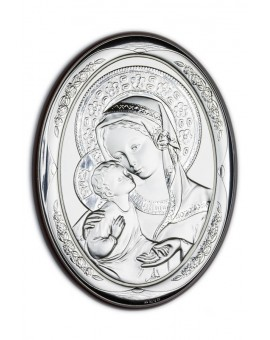 Virgin Mary Bilaminate Sterling Silver 0813