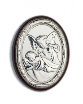Guardian Angel Bilaminate Sterling Silver 0852