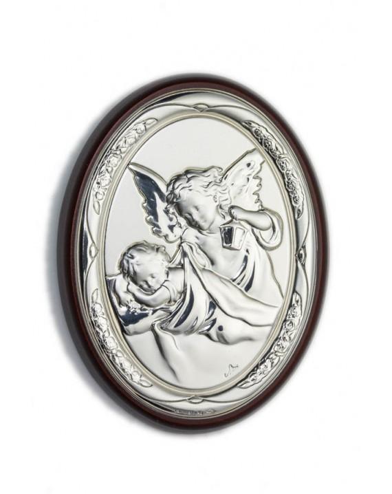 Guardian Angel Bilaminate Sterling Silver 0852