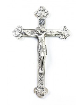 Four Evangelist metal Crucifix
