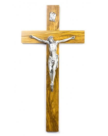 Olive wood Crucifix big