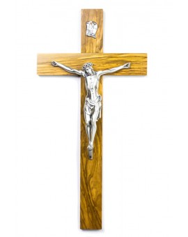 Olive Wood Crucifix Medium