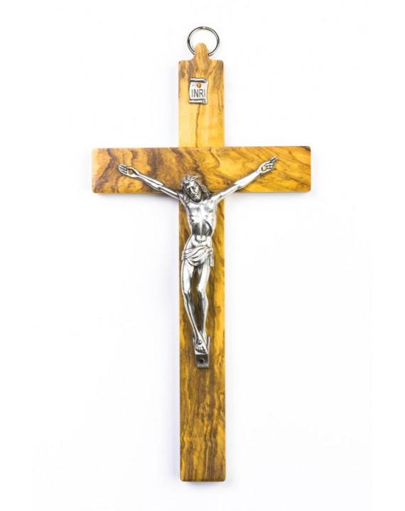 Olive Wood Crucifix small