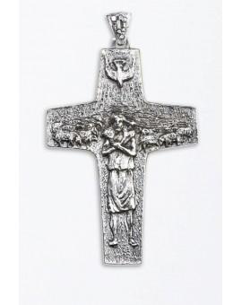 The original Pope Francis Pastoral Crucifix Brass