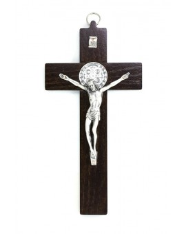 St. Benedict Crucifix dark wood - Prestige series