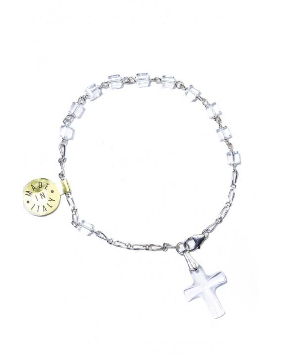 Cubic Swarovsky bracelet small