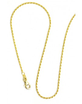 Gold Plated Sterling Silver chain 04